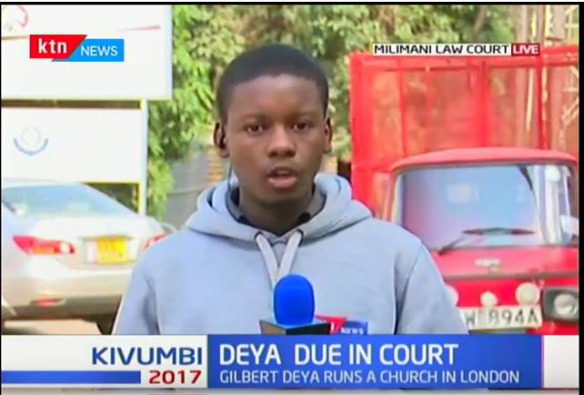 Timothy Otieno: Young and Passionate Broadcast Journalist